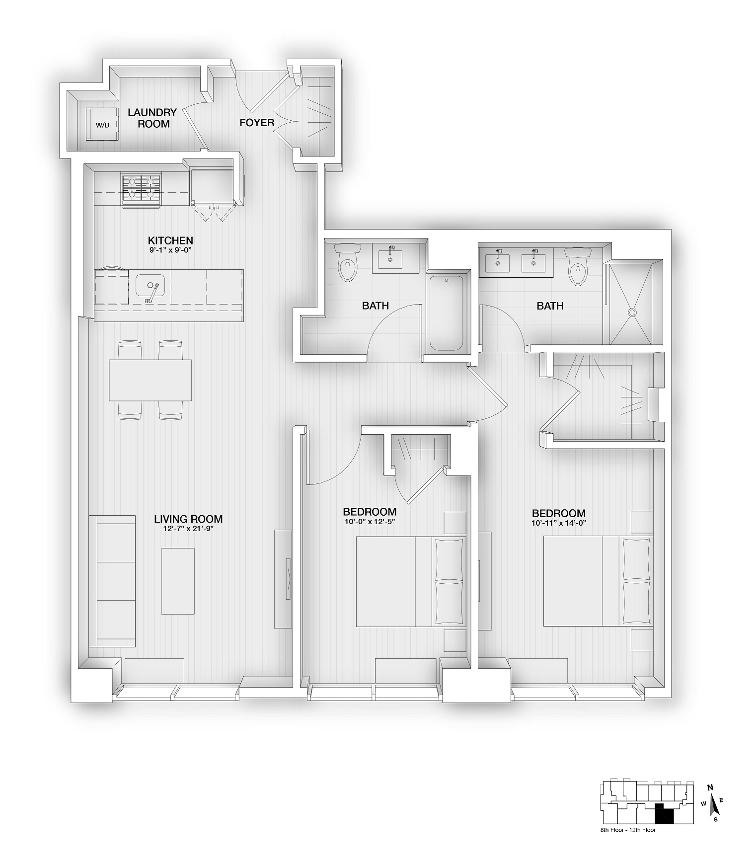 Unit 1004 Floorplan
